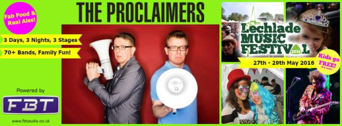 Midas Prosound chooses FBT to power Lechlade festival!
