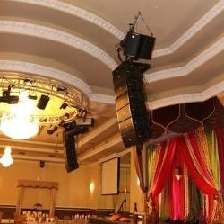 Mirage Wedding And Banquet Hall Outfitted With FBT Arrays And Subwoofers