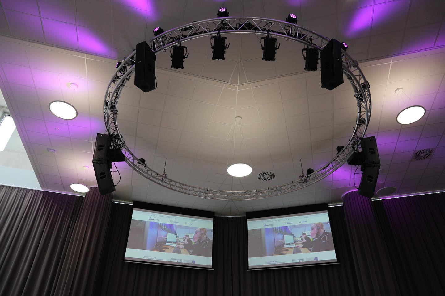 FBT installed at the JTC College, Roosendaal, The Netherlands.