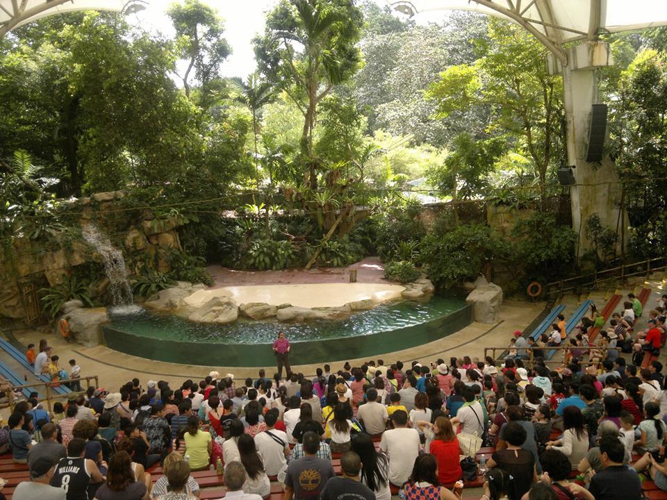 Singapore Zoo Amphitheatre Gets FBT Line Array