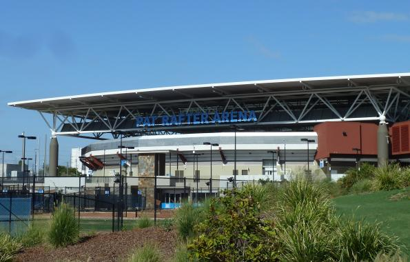 FBT and Pat Rafter Arena
